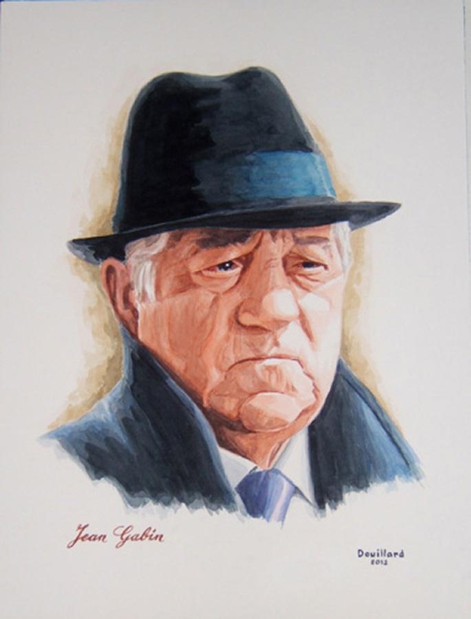 Jean Gabin por Douillard